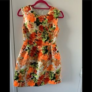 Dresses & Skirts - Bright colorful floral a line dress